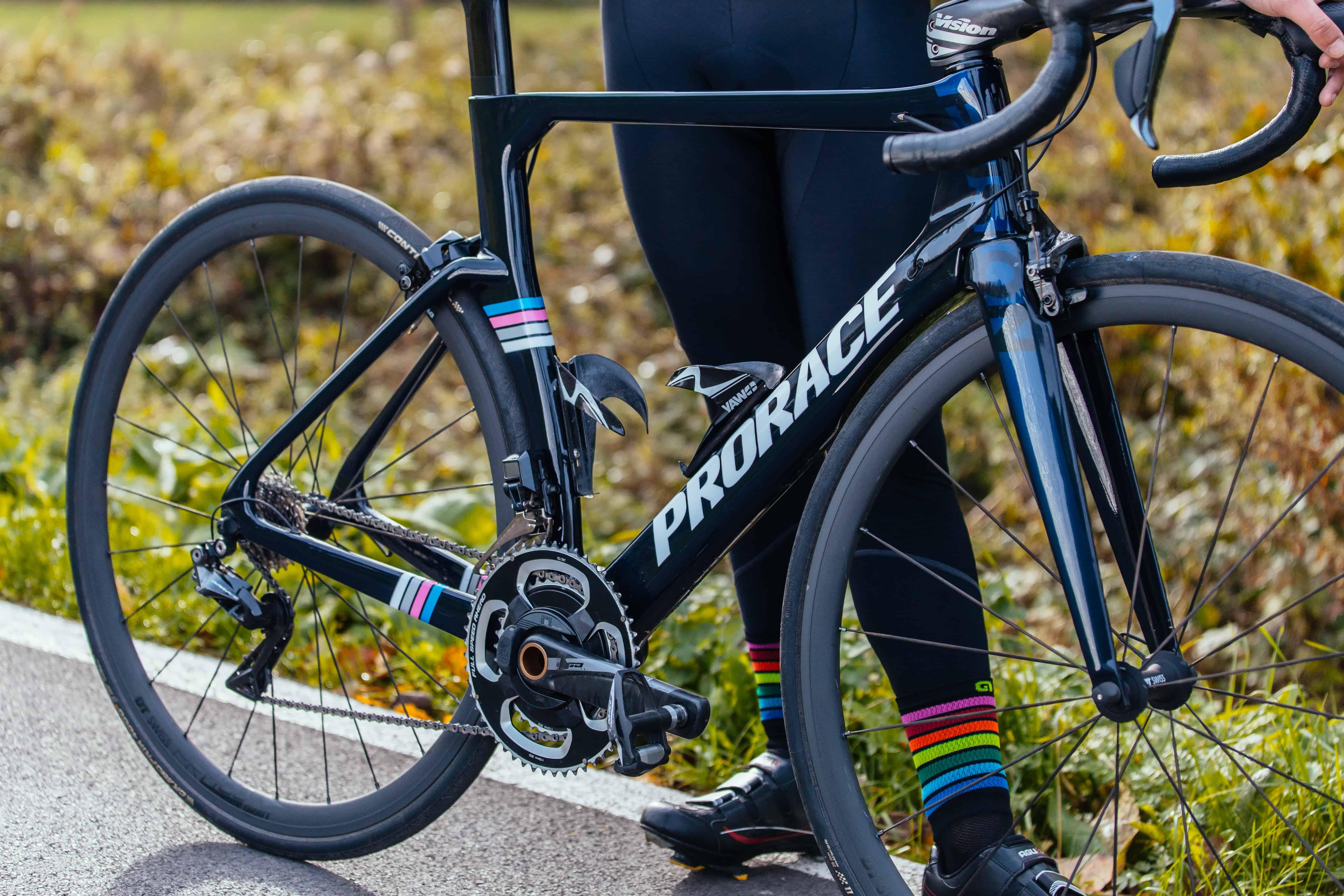 Prorace fiets Fusion Aerodynamisch