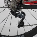 Chaos DSQ - Prorace AERO fiets - versnellingen