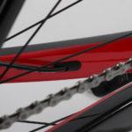 Kabels weggewerkt Chaos DSQ Prorace fiets