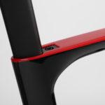Weggewerkte zadelklem Aerodynamische fiets Prorace Chaos DSQ