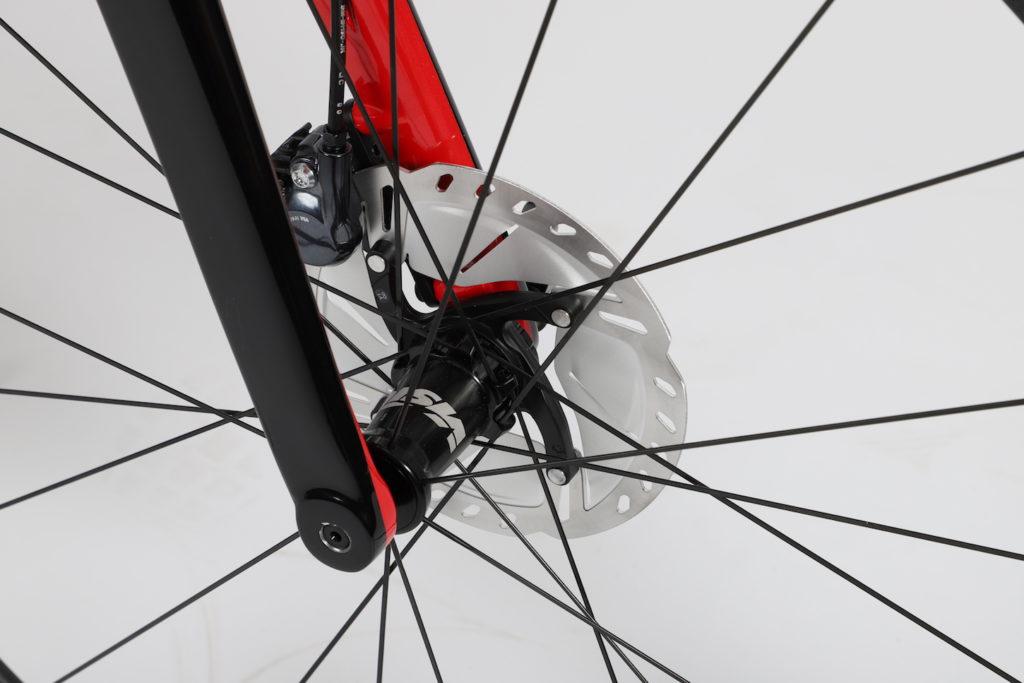 Schijfremmen Chaos DSQ Prorace fiets