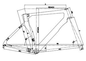 Geometrie aerodynamisch frame Prorace Fusion (DSQ)
