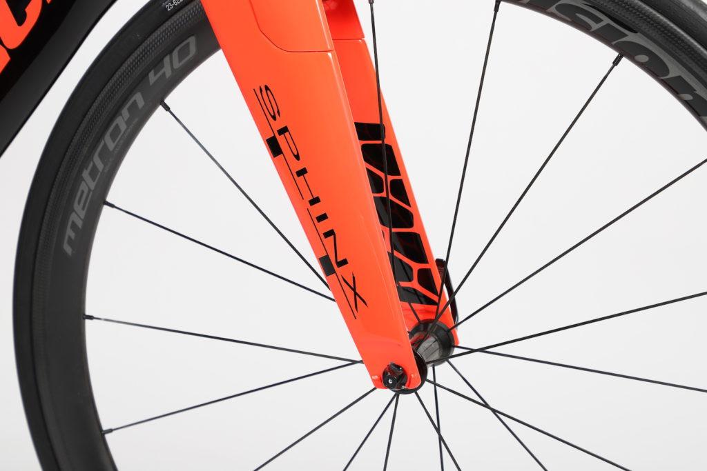 Sphinx Time trail fiets Prorace Design voorvork