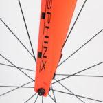 Sphinx Time Trial fiets Prorace Voorvork