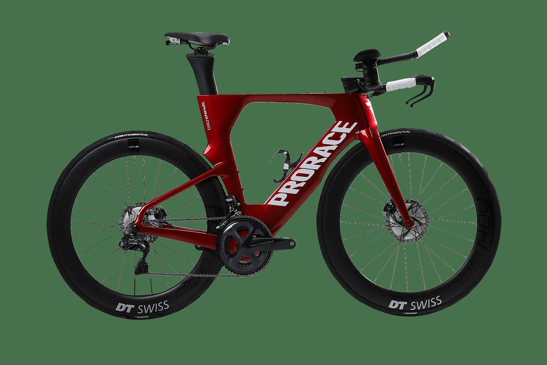 Sphinx DSQ time trail fiets Prorace zijaanzicht